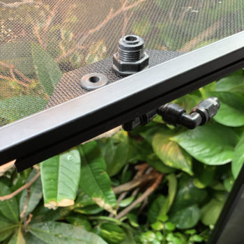 misting mount placement