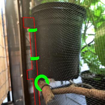 attachment points for vertical Dragon Ledges
