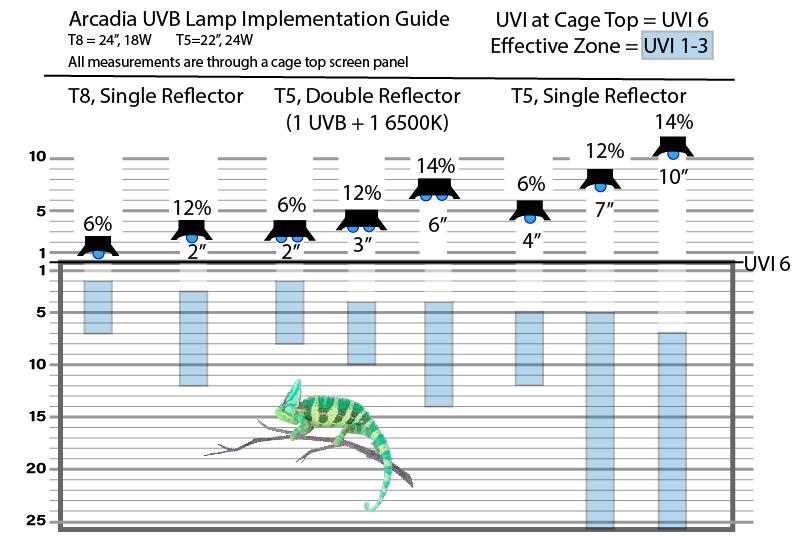 Arcadia UVB Profiles