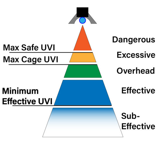 UVB Zones for chameleon keeping