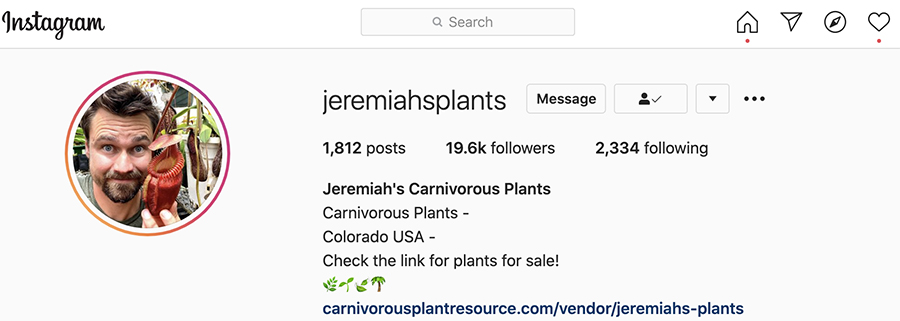 Jeremiahs CP Instagram