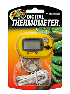 thermometer for chameleon cages